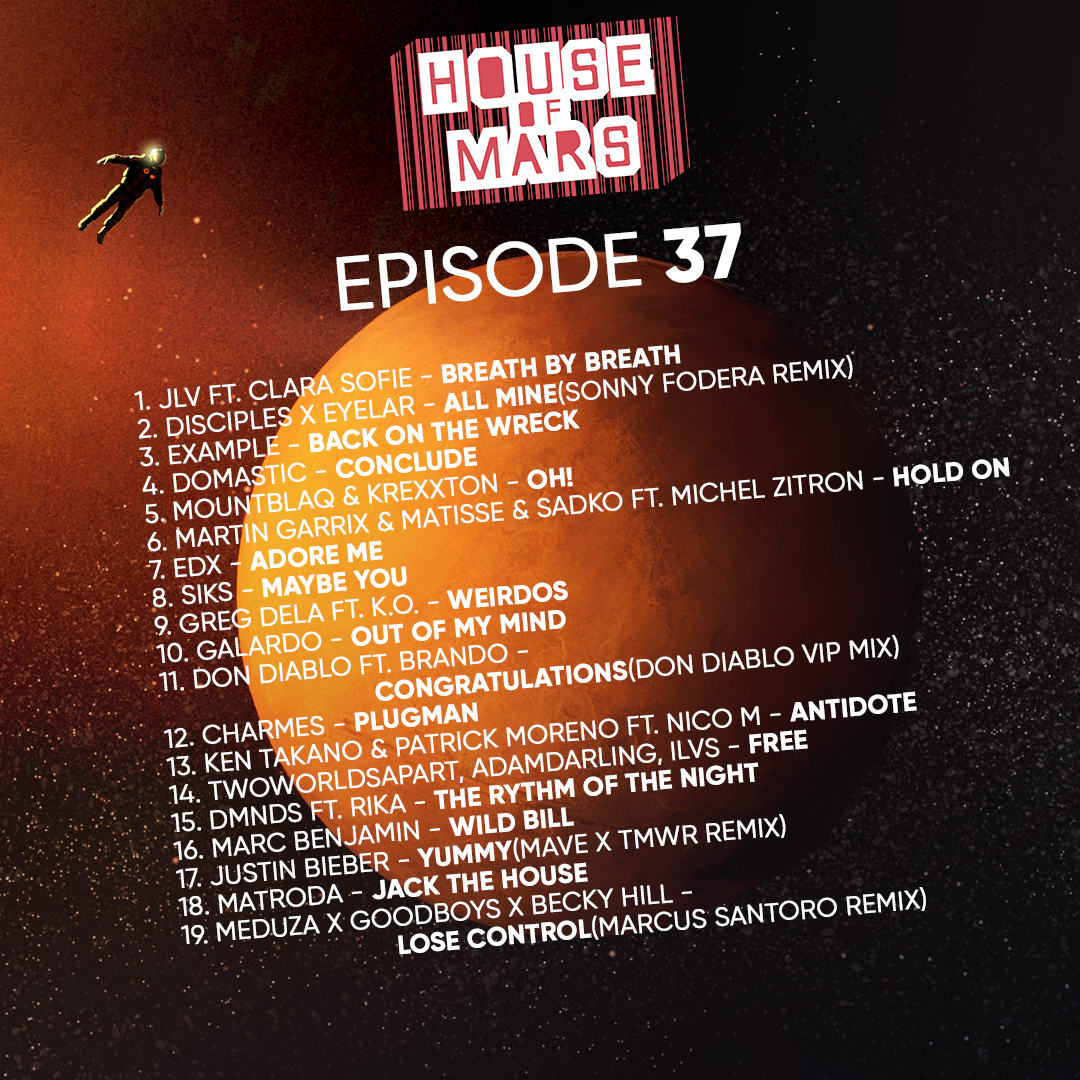 House of Mars episode 37 with fresh hot beats is here! Stream/Download/Subscribe:  https:// fanlink.to/houseofmars     #futurehouse #housemusic #houseofmars #madisonmars #edm #dj #radioshow #podcast #newmusic #NMF<br>http://pic.twitter.com/ZuVdaLmzEk