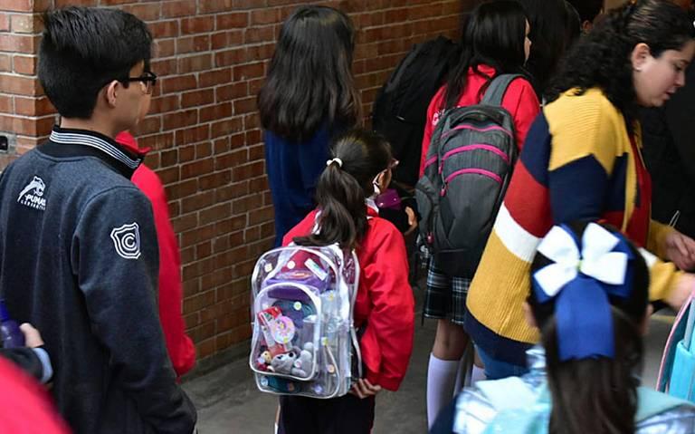 Colegio Cervantes retoma clases