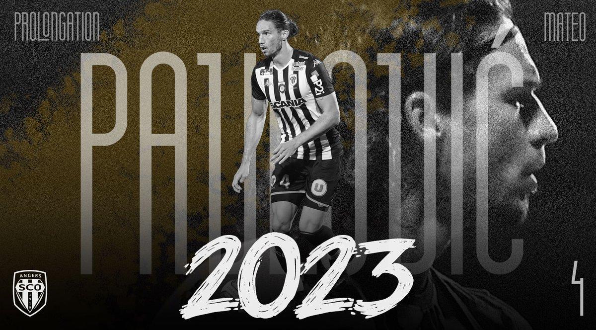 Pavlovic prolonge avec Angers