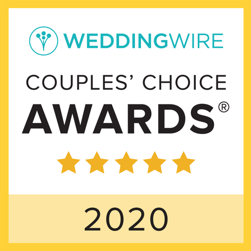 We are so honored to be named in WeddingWire's 2020 Couple's Choice Awards. Thank you to all the amazing people we've been privileged to work with since we started this journey more than 10 years ago. We love each and every one of you! http://j.mp/2uZ74Gqpic.twitter.com/YdG0cFtAym