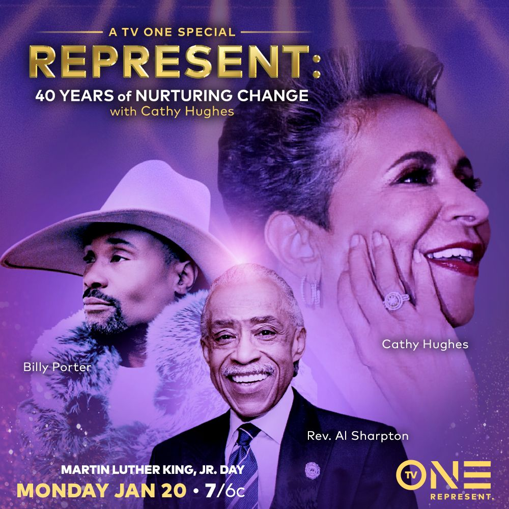 Celebrate Change on #MLKDay with @TheRevAl, @theebillyporter and myself or my special tribute show #REPRESENT 40 Years of Nurturing Change. This tribute not only honors the 40 years of Radio One but also the 40 years of change within the #LGBTQ community. Monday, Jan. 20 @ 7/6c.