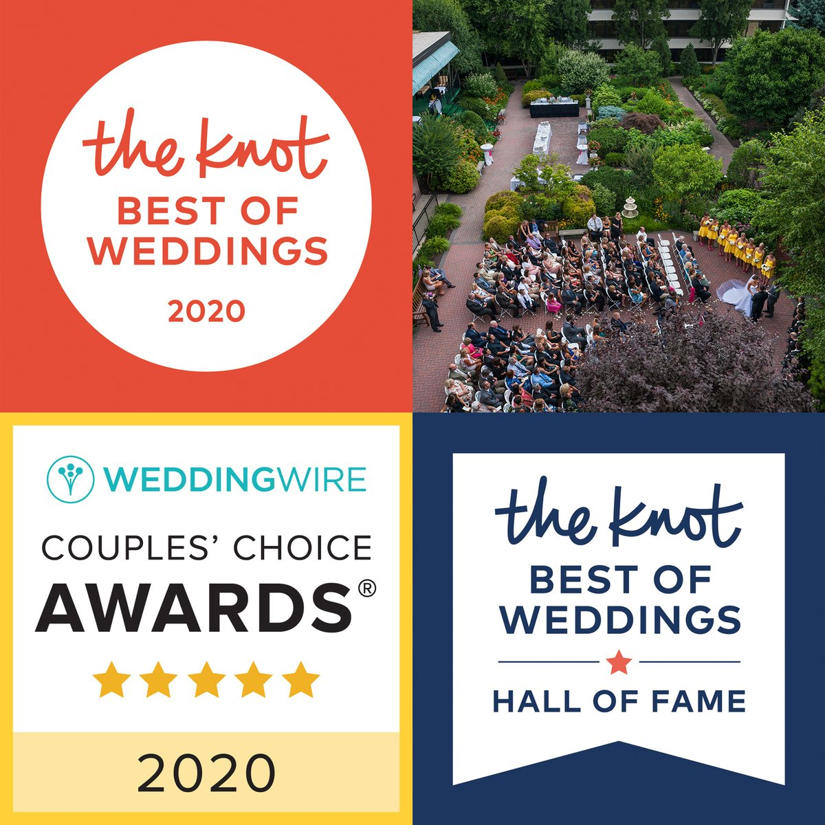 The @RadnorHotel is a 2020 Winner of @theknot's #BestOfWeddings and #HallOfFame, and @WeddingWire's #CouplesChoice #Awards! Learn more about this first-class #WeddingVenue that's been offering exceptional service for over 50 years on the #MainLine… https://radnorhotel.com/pic.twitter.com/XZDvRtYGCu