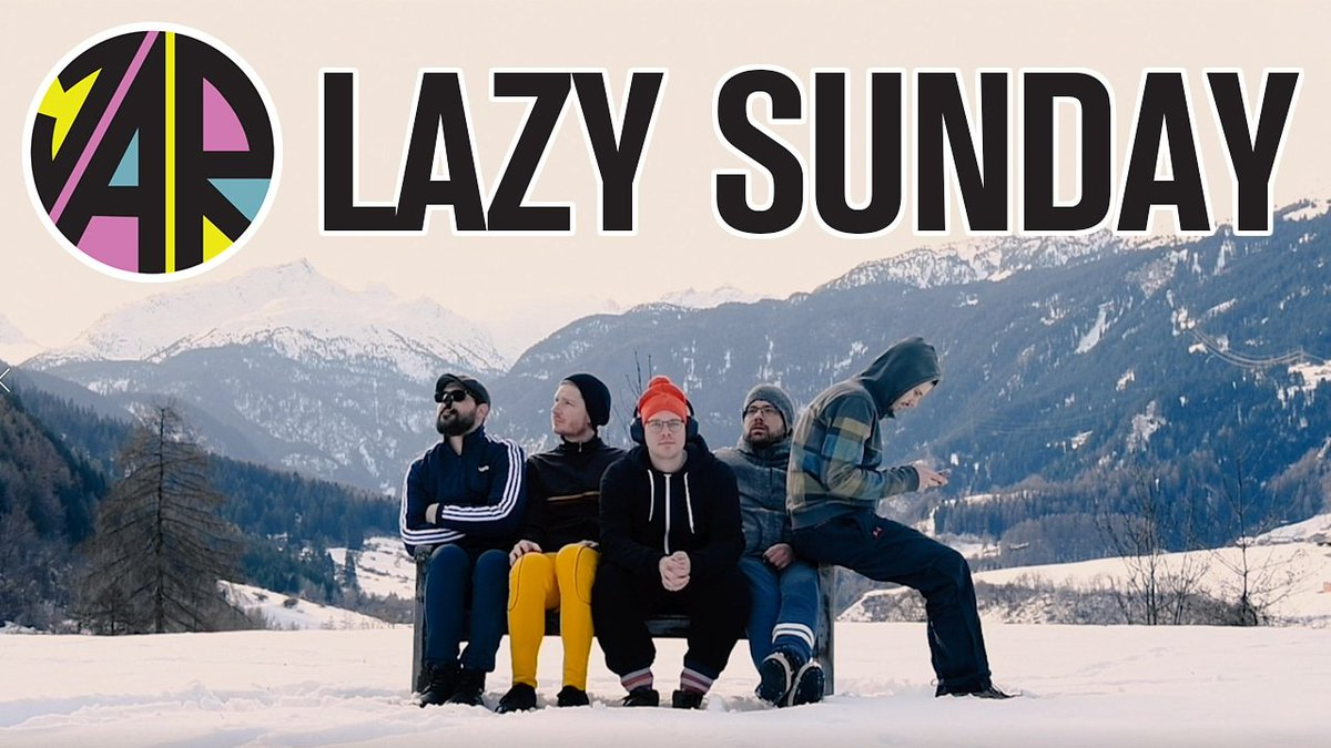 Enjoy yourself. Today is «Lazy Sunday» 🎥😴Video: https://youtu.be/_w4qn07412I Buy: https://orcd.co/ao60e6k Pre-order «Love Rocket»: https://orcd.co/lppqv2g #JarLoveRocket #LazySunday #NewRelease #NewMusic #ReleaseDay