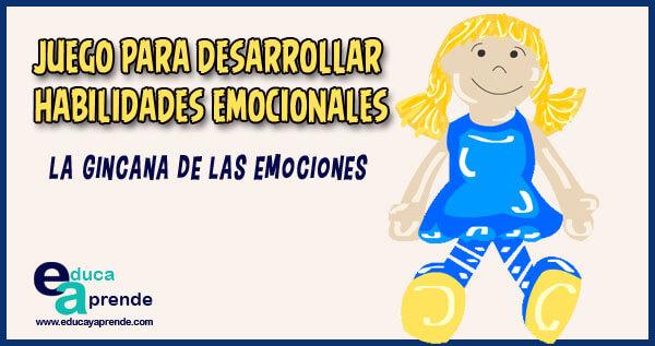 La Gincana de las emociones ➤ Hoy os dejamos este interesante juego educativo para ayudar a los pequeños a desarrollar el conocimiento de las EMOCIONES y las HABILIDADES EMOCIONALES.  #educacion #niños #maestro #educacioninfantil #educacionprimaria https://educayaprende.com/juego-habilidades-emocionales/…pic.twitter.com/ISgJhf17hl