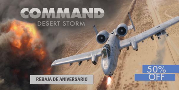 CMO Desert Storm a mitad de precio