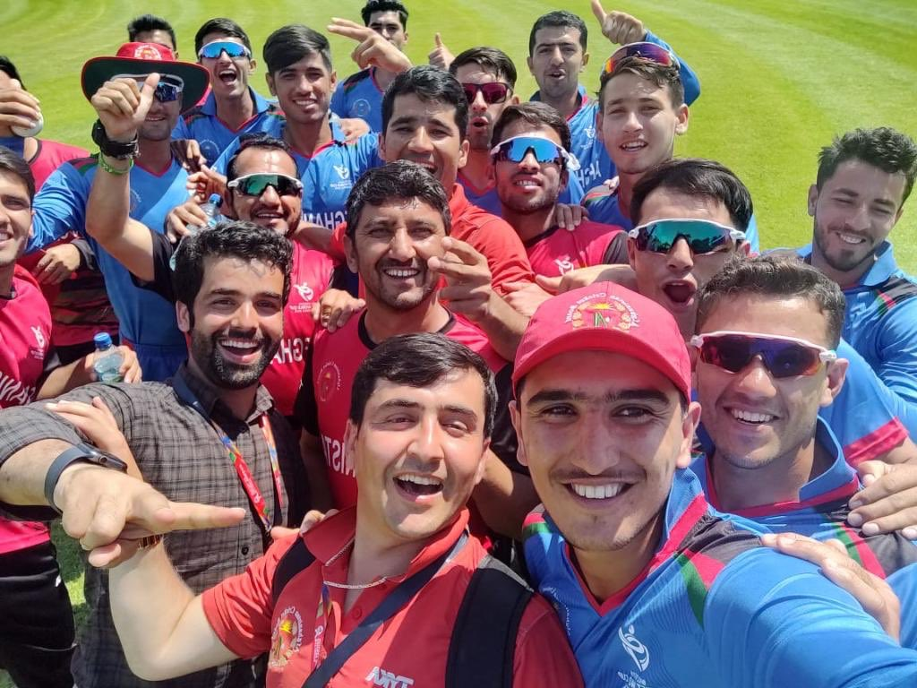 Congratulations Blue Tigers! Such an amazing win for the #U19CWC great team work pic.twitter.com/XSml57PHYA