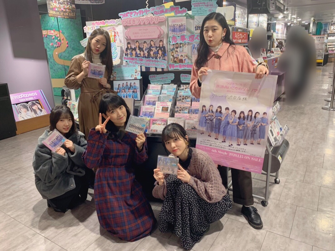 【Blog更新】 6thシングルリリイベラスト! 小片リサ:…  #tsubaki_factory #つばきファクトリー