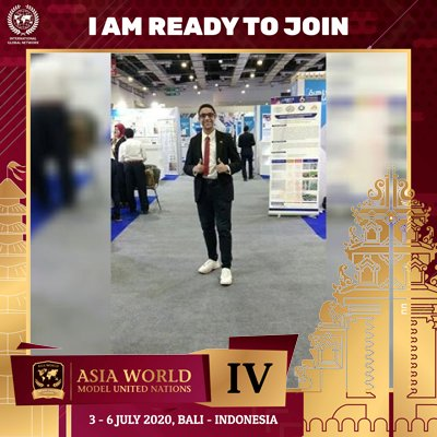 """I am Shehab-eldin Ahmed farouk and I'm proud to be a part of Asia World MUN IV in Bali, 3-6 July 2020. """"You may say I'm a dreamer, but I'm not the only one. I hope someday you'll join us. And the world will live as one""""-John Lennon. #AsiaWorldModelUnitedNations #AsiaWorldMUN https://t.co/GiOaCqJUOx"""