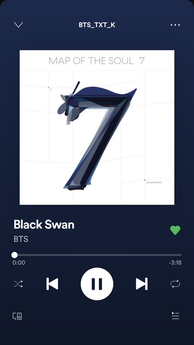 That's a lot to process. I have had so little time to listen to it and watch the video. I need more time. This single needs more attention to every detail.  It's so beautiful, delicate, strong and dark at the same time. @BTS_twt #BTSIsComing #BlackSwanOutNow #BlackSwan
