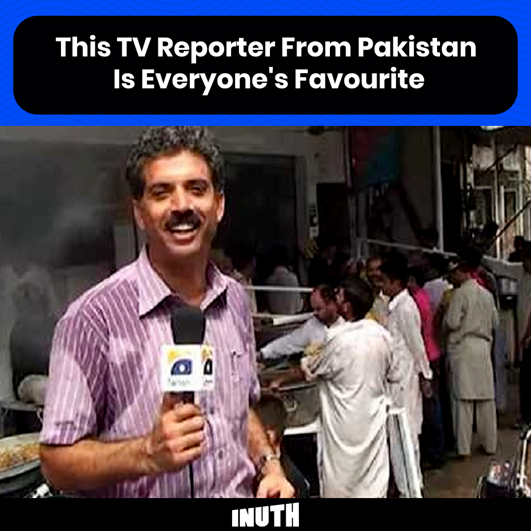 Here are 5 reasons why you gotta love this TV reporter from Pakistan