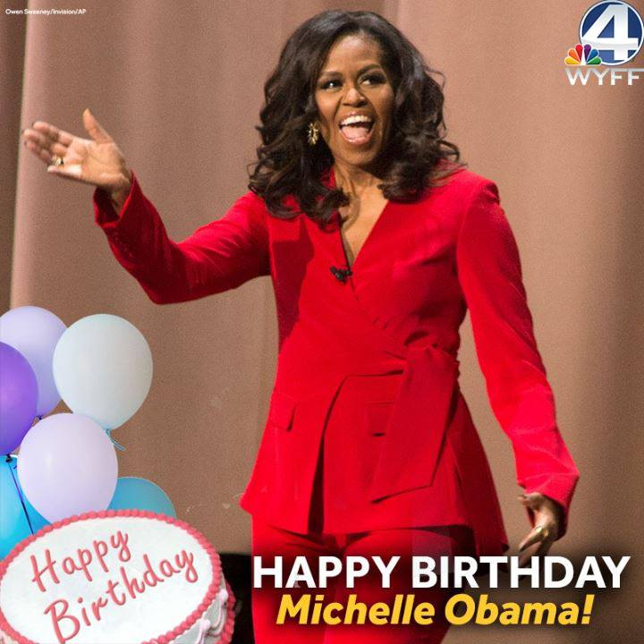 Wishing the former first lady a Happy Birthday! 🎂
