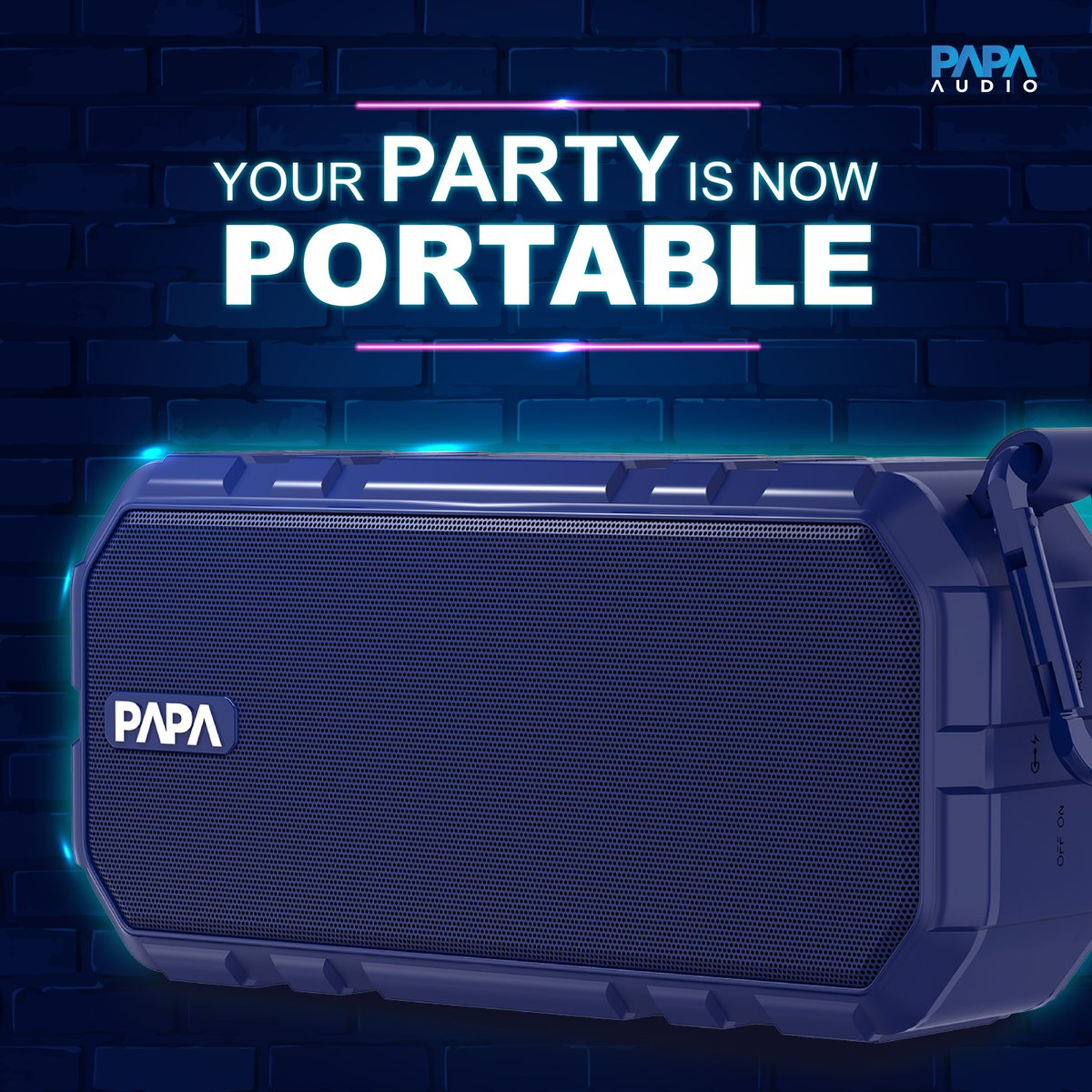 And the weekend is here Switch off your screens, and put some music on! Get your portable speaker now - http://bit.ly/2Jo56Uh   #PapaAudio #PortableSpeakers #BluetoothSpeakers #WirelessSpeakers #Weekend #FridayFeeling #FridayVibespic.twitter.com/NXcYy820mr