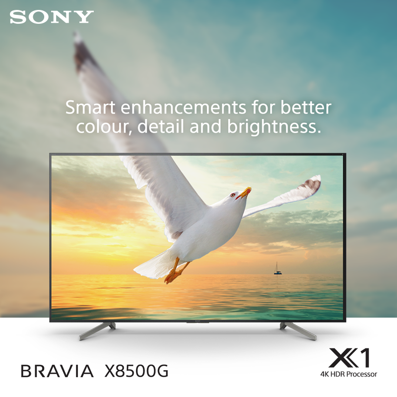 Take your enjoyment of your favourite shows up to the next level with vibrant colours, exquisite detail and breathtaking realism on #SonyBRAVIA X85G.Know more: http://bit.ly/36Eq3nF