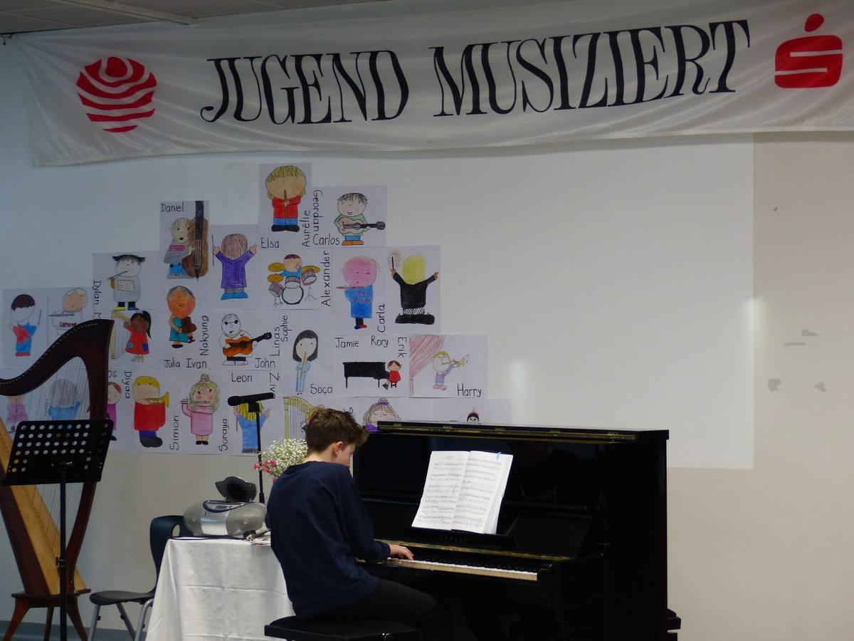test Twitter Media - Well done to all partipants in this year's #jugendmusiziert competition! Congratulations to Leon, Dylan and Sorcha who made it through to the next round. We look forward to hearing their performances at our Jumu prize-giving concert   at 7.30pm this evening. https://t.co/TjqM7ZB7SZ