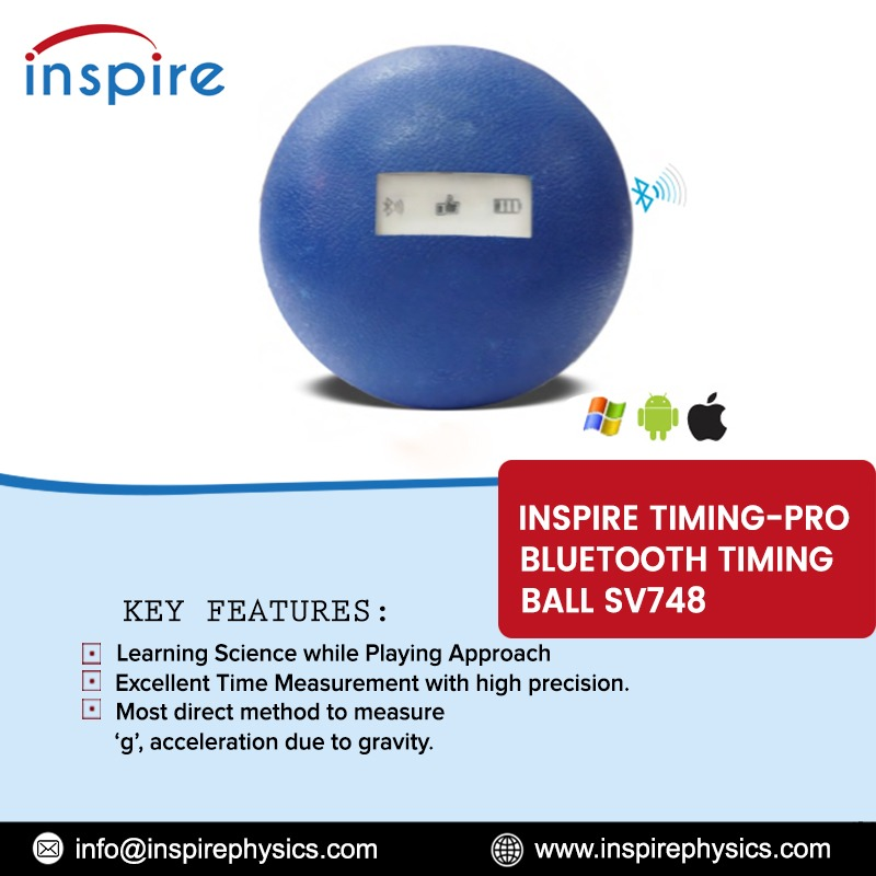Inspire Timing-Pro Bluetooth Timing Ball SV748 . http://inspirephysics.com/   info@inspirephysics.com  #USA #PhysicsEquipment #PhysicsApparatus #SchoolScienceLab #STEMlab #ScienceKits #ScienceExperiment #CollegePhysicsLab #SchoolPhysicsLab #ElectronicPluginKitpic.twitter.com/lbGpAavhXK