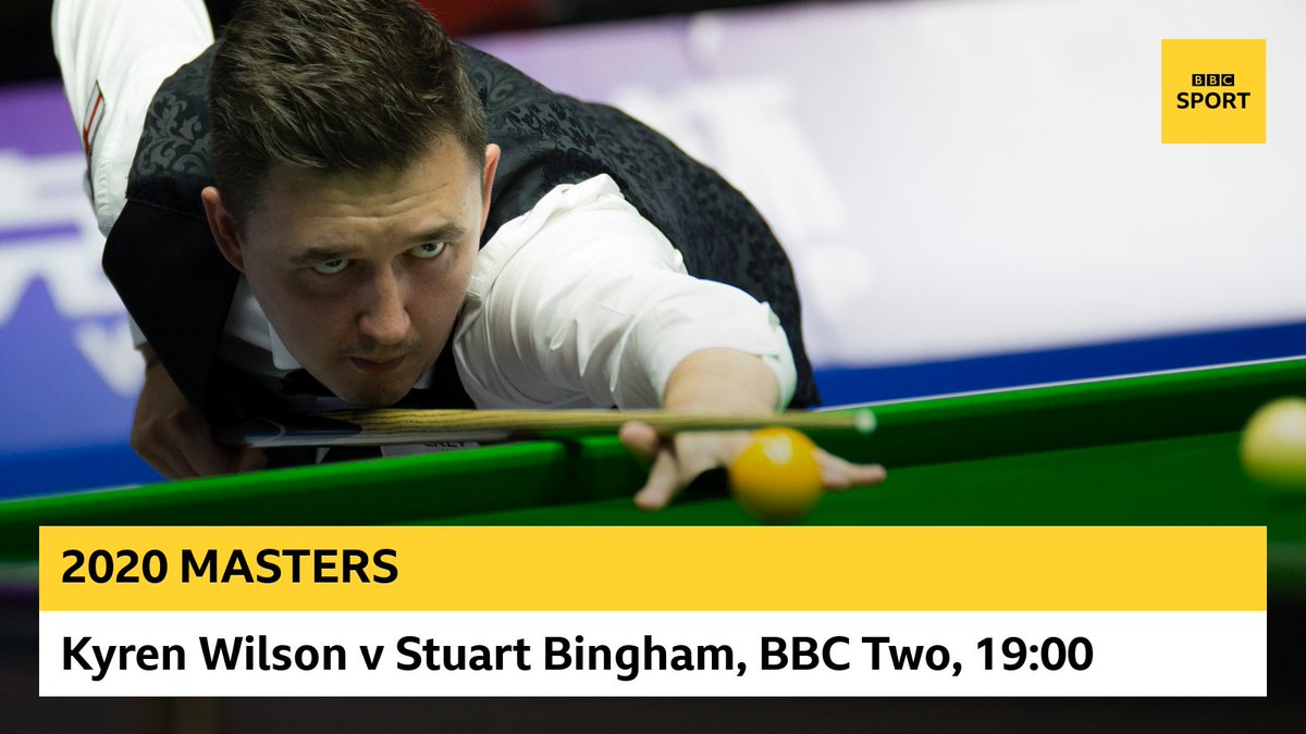 Watch the Masters LIVE now on @BBCTwo, @BBCiPlayer and here: http://bbc.in/2FVgRQ3 #bbcsnooker