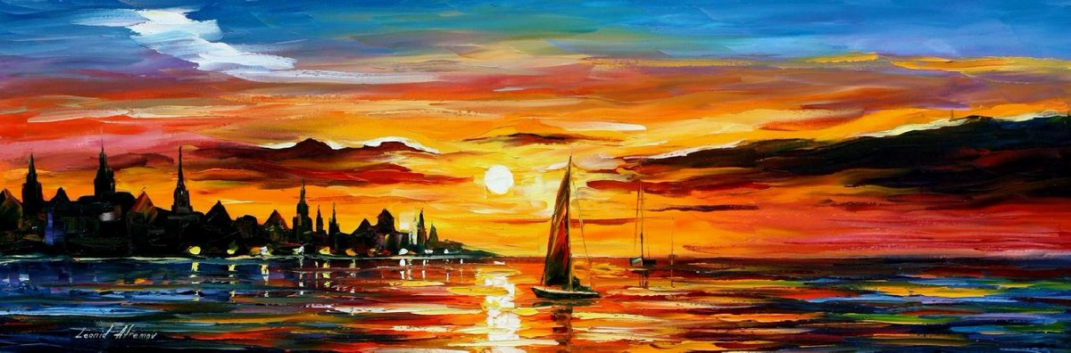 THE AMBER EVENING — PALETTE KNIFE Oil Painting On Canvas By Leonid Afremov https://afremov.com/the-amber-evening-palette-knife-oil-painting-on-canvas-by-leonid-afremov-size-14-x40.html …  If you like Afremov's art, please RT #oiloncanvas #fine_artist #abstractarts #artwork_artistpic.twitter.com/PRUuTfX7gM
