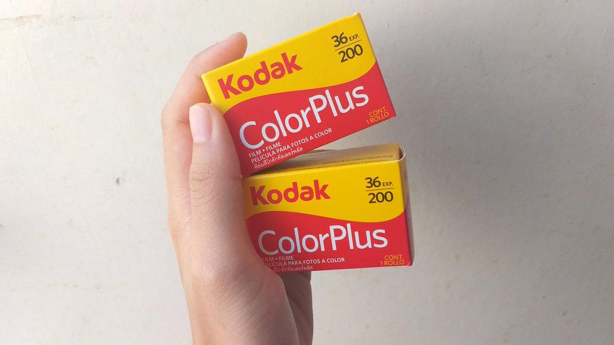 ฟิล์ม kodak colorplus200 พร้อมส่ง กล่องละ 160 บาทค่ะ #kodakcolorplus200 #ฟิล์ม #ขายฟิล์ม #ฟิล์ม35mm #ฟิล์มกล้องpic.twitter.com/sMd5E2bsA4