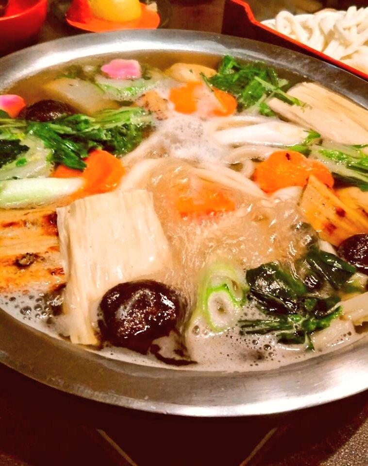 〉【 美々卯/みみう 】新宿うどんすきだ➰😍😍😍最近のMyブームだ➰やっぱり寒いから鍋でしょう➰👍#うどん #しゃぶしゃぶ #新宿