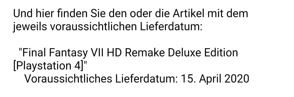 Are you fucking kidding me? #FF7R   Square really chose the worst possible date for the new release date...  <br>http://pic.twitter.com/Bxi086P2hT
