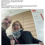 Image for the Tweet beginning: Die PARTEI #Regensburg bedankt sich...