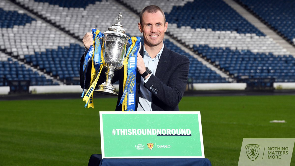 """As we extend our partnership with Diageo, today sees the launch of """"This Round, No Round"""", which asks you to skip a round of drinks this @ScottishCup weekend, to promote responsible drinking among football fans.  Find out more about the effects of alcohol:  http:// bit.ly/2tZr37i    <br>http://pic.twitter.com/Zo3Hktp9YS"""