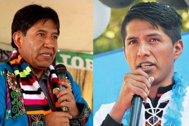 Bolivia's MAS-affiliated social movements (Pacto de Unidad) have unanimously nominated David Choquehuanca and Andrónico Rodríguez to be presidential and vice presidential candidates, respectively, for the Movement Towards Socialism.  Looks like a done deal at this point. <br>http://pic.twitter.com/WrEEUyCLg7