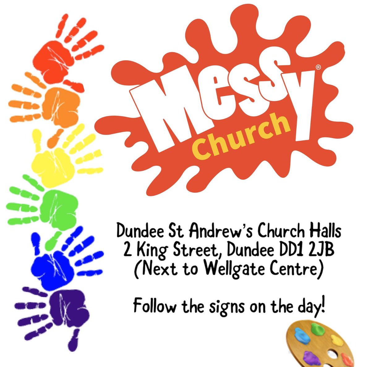Join us tomorrow, Saturday 18th January, for our Jonah and the Whale themed Messy Church - we've lots of fun crafts, songs and stories. Lunch is included so do join us at 11am! #messychurch @msp_standrews @MessyChurchBRF