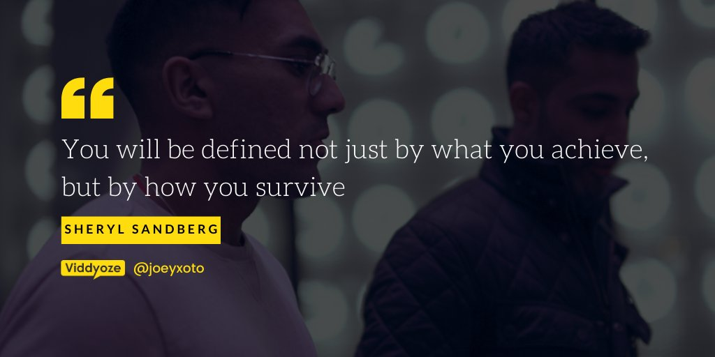 """""""You will be defined not just by what you achieve, but by how you survive"""" #entrepreneurslife #entrepreneurgoals #businessowner #businessman #businesscoach #businesstrip  #work #inspiration #digitalmarketingpic.twitter.com/tttJvWZgmF"""