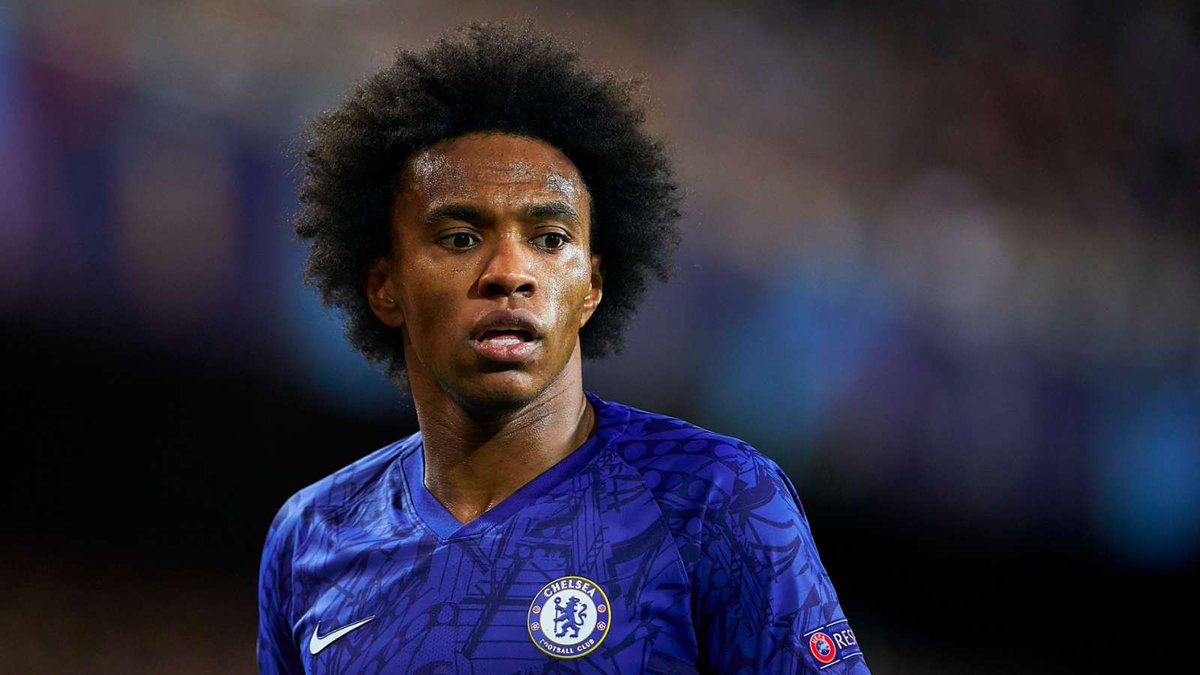 Frank Lampard has demanded that Chelsea pull out all the stops to keep Willian beyond the summer. (Source: Evening Standard)