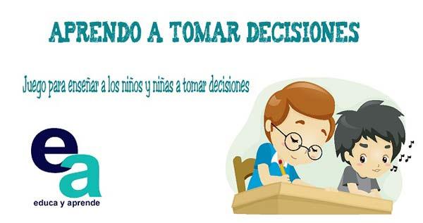 Dinámicas de toma de decisiones ➤ Juego educativo para enseñar latoma de decisiones para niños  #educacion #niños #maestro #educacioninfantil #educacionprimaria https://educayaprende.com/juego-educativo-aprendo-a-tomar-decisiones/…pic.twitter.com/m5XoIsjRRw