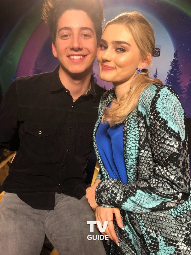 🧟♂️🧟♀️ We could hang with @MiloManheim and @ImMegDonnelly all day 🎉 #Zombies2
