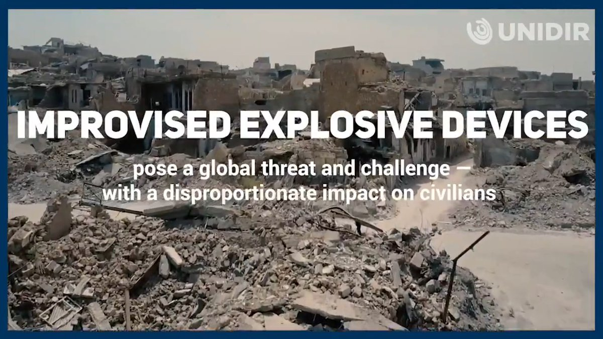IEDs are a global problem spanning across conflicts, crime and terrorism.Nearly 50 countries had at least 1 casualty from an improvised explosive device in 2017.UNIDIR is supporting States in addressing this threat. Watch and learn more below.