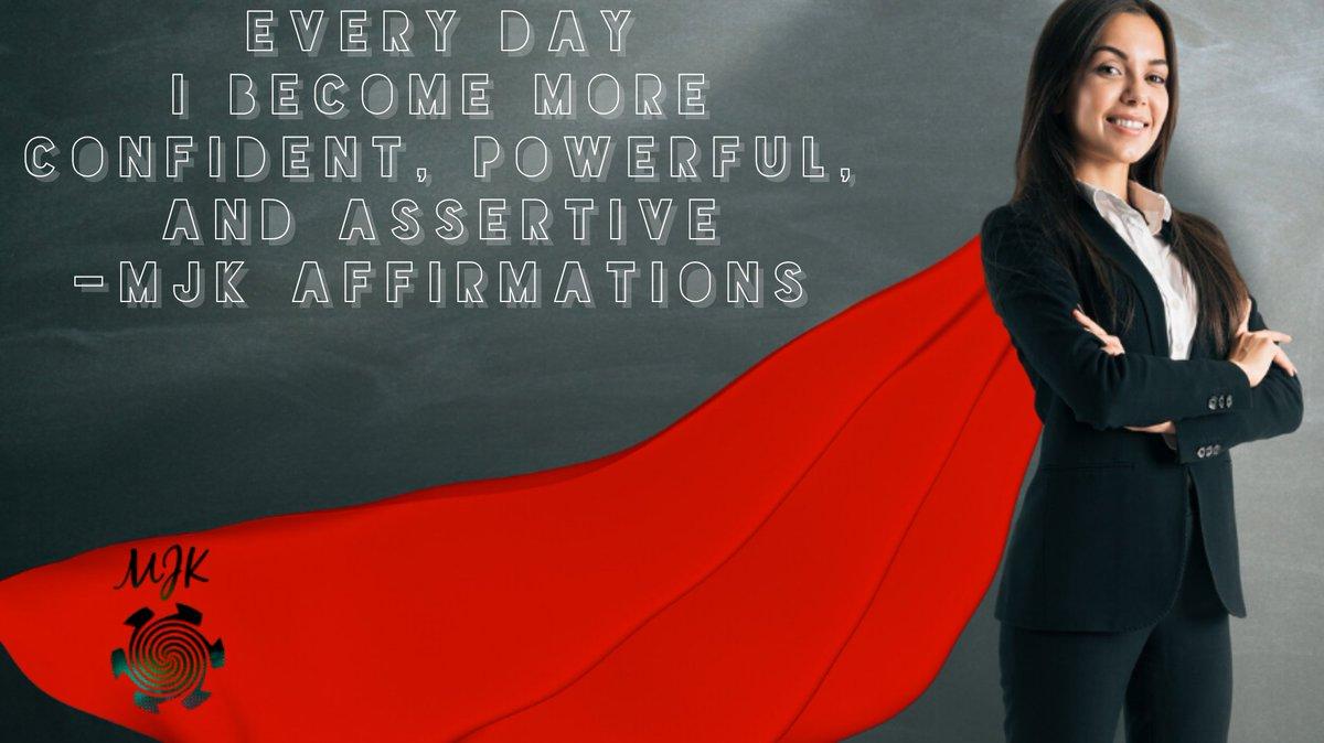 Happy Friday #confident #confidence #power #powerful #assertive #Affirmations #dailyaffirmations #positiveaffirmations #friday #fridayvibes #tgif #weekend #weekendvibes #motivation #morningmotivationpic.twitter.com/LbzqPoXfVK