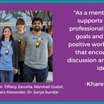 Image for the Tweet beginning: Today we celebrate #NationalMentoringMonth with
