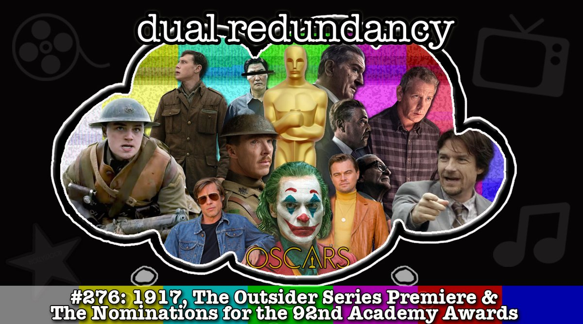 Start your Friday off right by downloading the latest podcast where we discuss Oscar noms, #1917Movie and the new HBO series #TheOutsider! http://www.dualredundancy.com/2020/01/podcast-episode-276-1917-outsider-and.html …pic.twitter.com/0KQTiYeIk3