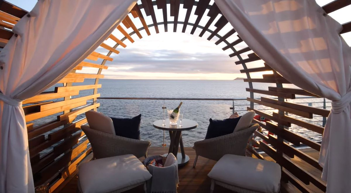 Glamping at Sea? You can on Celebrity Flora in the Galapagos! Sign me up! http://ow.ly/Cc6330q8YtD #cruise #expedition #galapagos @CelebrityCruise #news #luxury #travel #glamping #celebritycruises