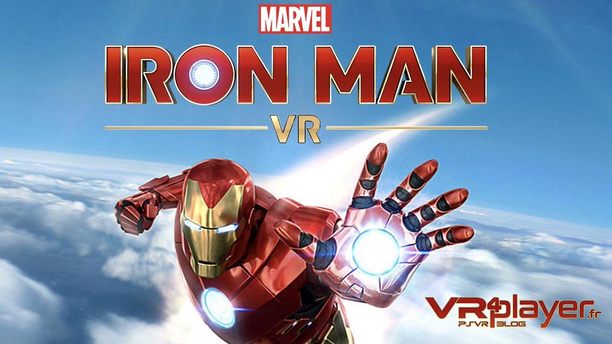 Le jeu 'Iron Man VR' est repoussé au 15 mai 2020.