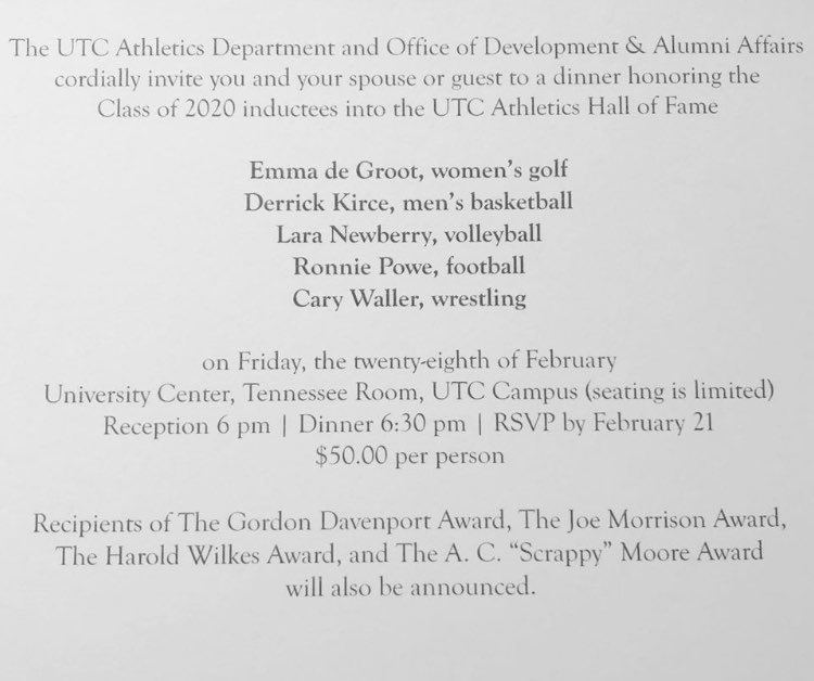 Lara Newberry is being inducted into UTC Hall of Fame for volleyball. She was an incredible 2 sport athlete at Baylor.   For softball she was Allstate and 3 time state champion class of 2005.  #WeAreBaylorpic.twitter.com/qsrJHcDD7r