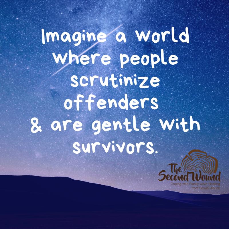 Just this today. #survivors #trauma #support #mentalhealth #traumainformed #empathy #compassion #ptsd #cptsd #sexualviolence #survivor #metoo #sexualabuse #rape #rapeculture #sexualassaultpic.twitter.com/5RgO7Hmle5