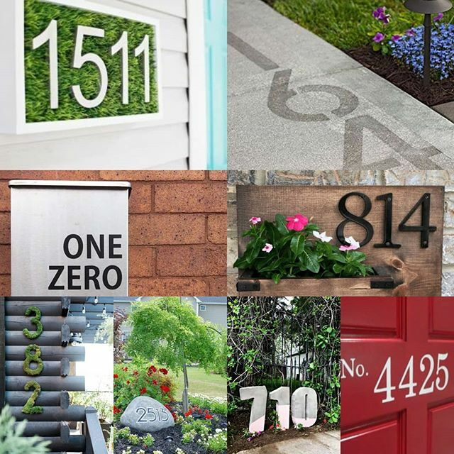 Are you a fan of any of these? . Unique house numbers can really make your home  stand out. Creates some fun curb appeal. Many are DIYs. . . . . . #diy #housenumbers #curbappeal  #myaddress #homeownership  #happyhome  #homeprojects #funwithnumbers  #hila… https://ift.tt/364lphE pic.twitter.com/ePOX99XdPy