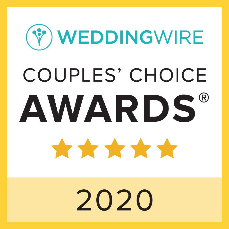 We are so thrilled to be selected as a winner of the @WeddingWire Couples' Choice Awards! We can't thank each couple & guest enough for contributing to this recognition. Cheers to another year of wonderful weddings & happily ever afters – we know this will be the best one yet! pic.twitter.com/ChvejCux84