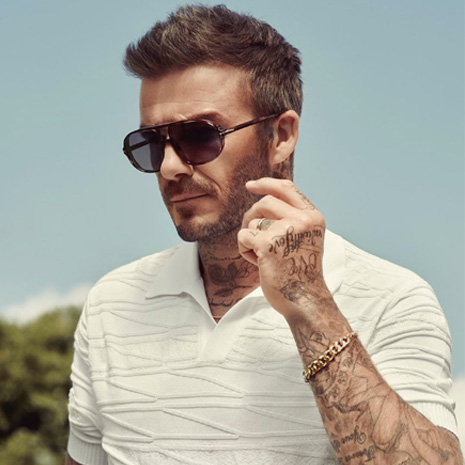 """I wear sunglasses all the time, and this is a category that I love. So it's important for me to work with a partner who prioritises the craftsmanship and design of the product as I do."" Enjoy free delivery on our David Beckham Eyewear collection! http://bit.ly/David-Beckham-Glasses …"