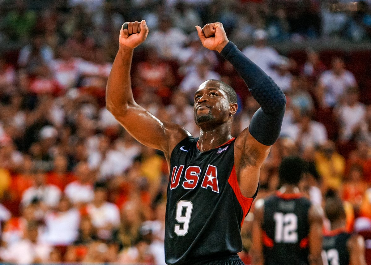 Join us in wishing @DwyaneWade a happy birthday! ⚡️ 🇺🇸 #USABfamily