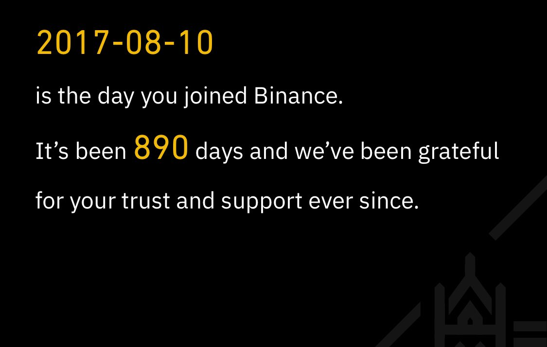 Tweet by @Darc_Binance