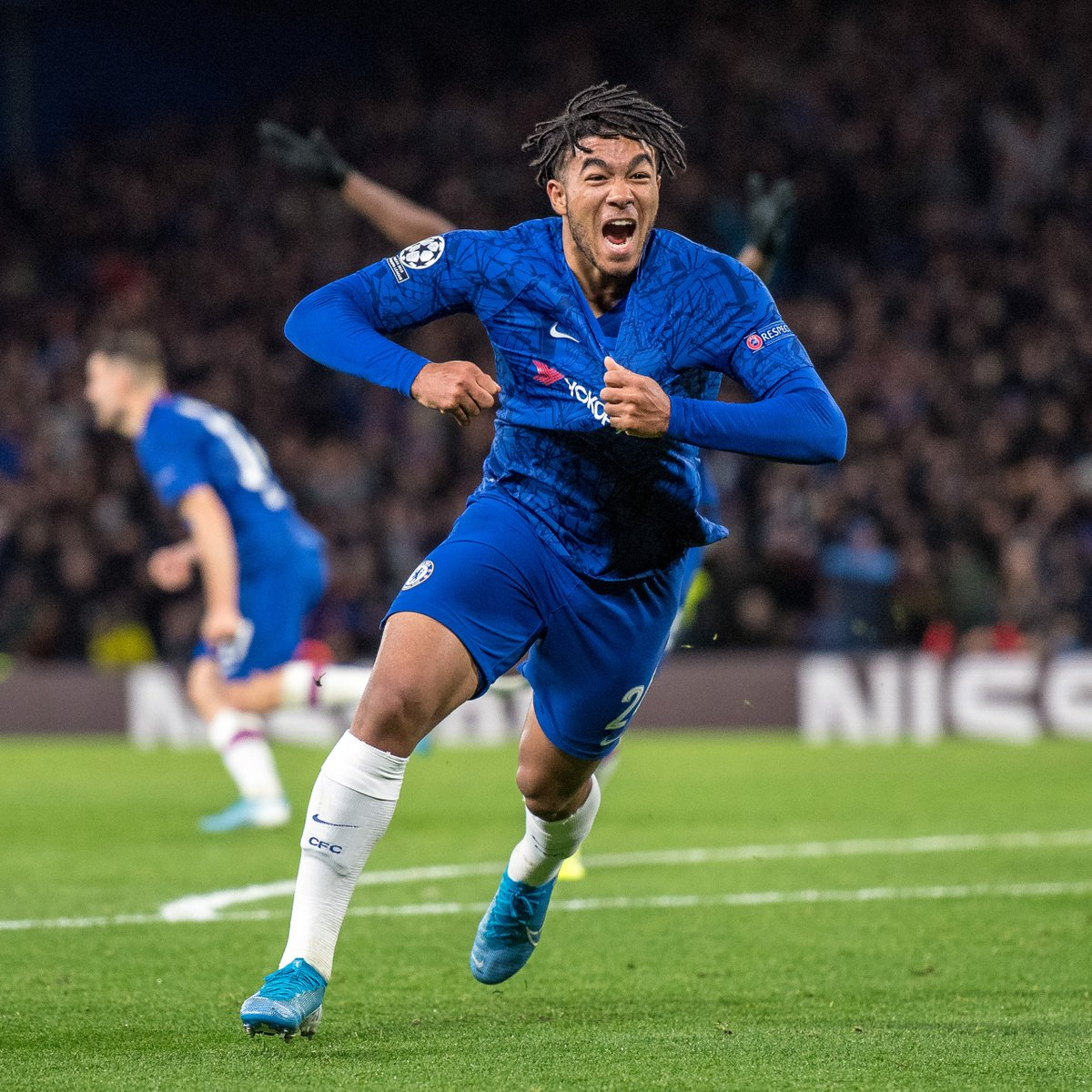 "🗣️ ""I would be happy to spend the rest of my career here!""  🔵 New Chelsea contract for Reece James ✍️  #UCL"