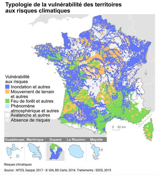 Un petit sujet au passage sur le #changement #climatique que ni le président du département de l'#Isère, ni le préfet n'ont évoqué lors des vœux. La France n'est que le 4e pays le plus exposé en nombre de décès! #ClimateChange #ClimateAction