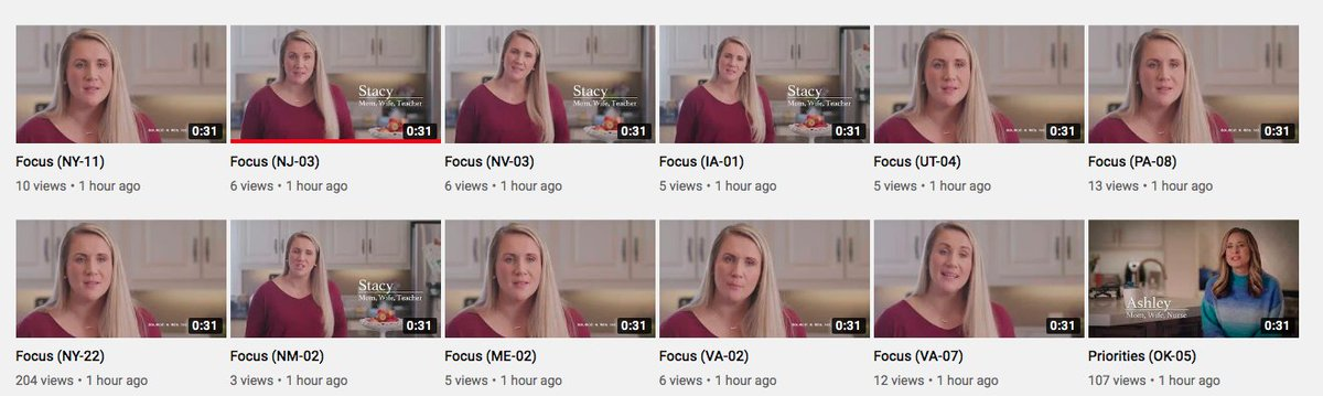 She's **very disappointed** in 11 different members of congress