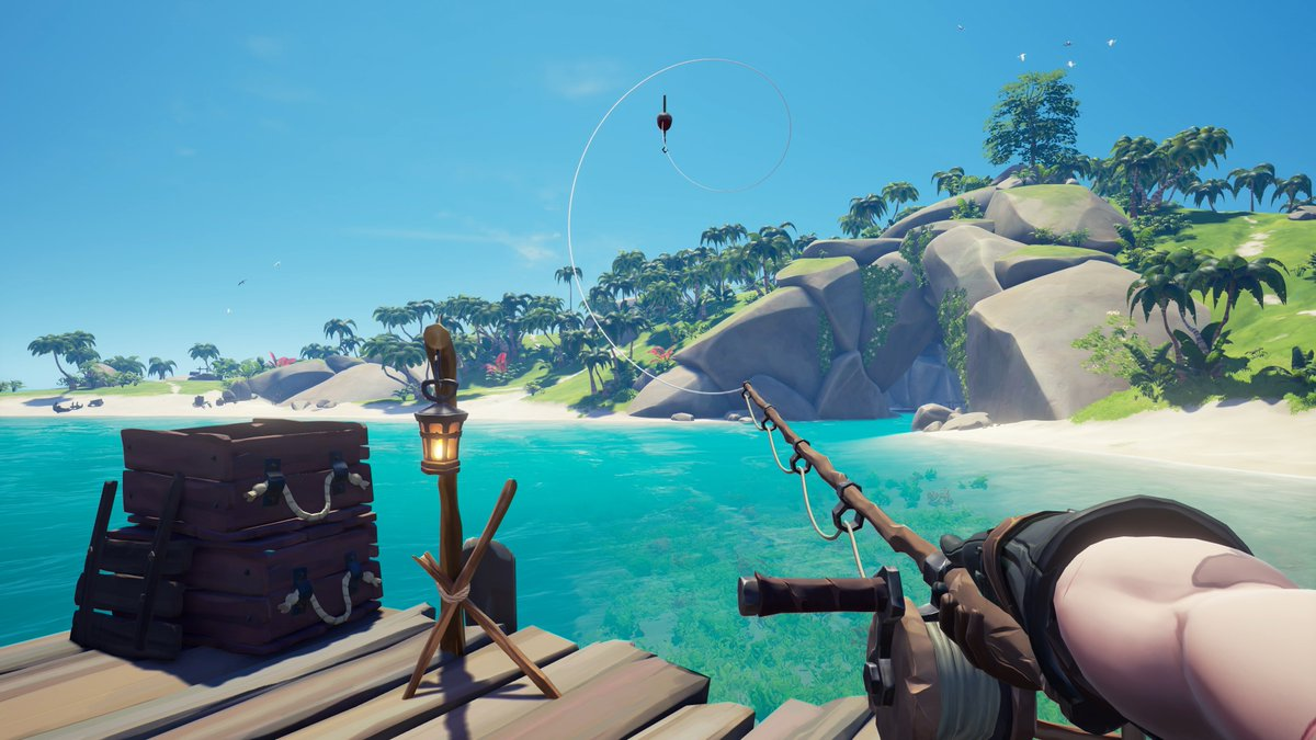 What's your favourite fishing spot in the Sea of Thieves?