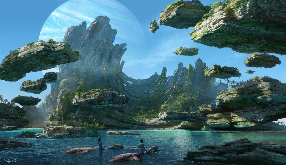 Saíram as primeiras images de #Avatar2, que estreia em Dezembro de 2021. Você ainda está ansioso para os filmes? pic.twitter.com/u6IsysGRiH